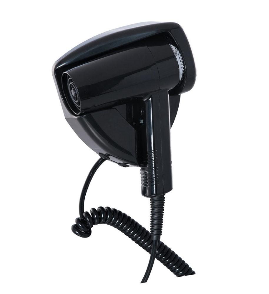 Secador de pelo Piccolo evolution negro